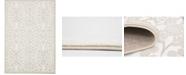 "Bridgeport Home Marshall Mar1 Snow White 8' x 11' 6"" Area Rug"