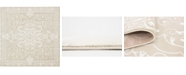 Bridgeport Home Marshall Mar4 Snow White 8' x 8' Square Area Rug