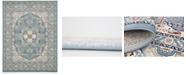 Bridgeport Home Zara Zar4 Blue 8' x 10' Area Rug