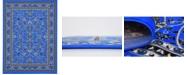 Bridgeport Home Arnav Arn1 Blue 9' x 12' Area Rug