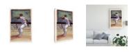 "Trademark Global Bruce Dean Baseball I Canvas Art - 15"" x 20"""