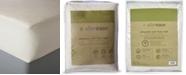 AllerEase Organic Cotton Top Twin Mattress Pad