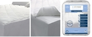 AllerEase 2-in-1 Zippered Mattress Protector and Luxury Twin Mattress Pad