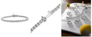 Macy's Certified Diamond Tennis Bracelet (6 ct. t.w.) in 14k White Gold