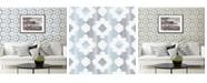 "A-Street Prints 20.5"" x 396"" Babylon Abstract Floral Wallpaper"