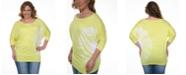 White Mark Plus Size Tie Dye Top/Tunic