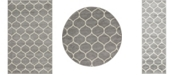 Bridgeport Home Plexity Plx2 Light Gray Area Rug Collection