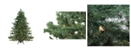 Northlight 7.5' Green Pre-lit Mountain Pine Artificial Christmas Tree - Clear Lights