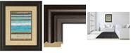 "Classy Art Strata I by Tava Studios Framed Print Wall Art, 34"" x 40"""