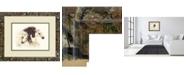"Classy Art Mountain Mirror by Elizabeth Halstead Framed Print Wall Art, 34"" x 40"""