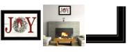 "Trendy Decor 4U Christmas Joy by Lori Deiter, Ready to hang Framed Print, Black Frame, 21"" x 15"""