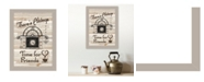 """Trendy Decor 4U Time for Friends by Millwork Engineering, Ready to hang Framed Print, Sand Frame, 10"""" x 14"""""""