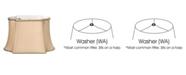 Macy's Cloth&Wire Slant Fancy Oblong Softback Lampshade