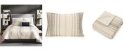 Trina Turk Ayesha Curry Slate Stripe King 3 Piece Comforter Set