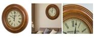 Crystal Art Gallery American Art Decor Grand Hotel Rue De La Paix Oversized Wall Clock