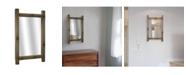 Crystal Art Gallery American Art Decor Bamboo Framed Mirror