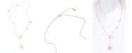 ADORNIA Hope Lariat Necklace