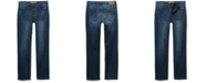 Seven7 Men's Sarrant Classic-Fit Power Stretch Jeans with Magnetic Fly and Stay-Put Closure