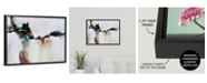 "GreatBigCanvas 24 in. x 18 in. ""Azure Jazz"" by  Sydney Edmunds Canvas Wall Art"