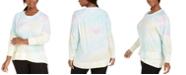 Ideology Plus Size Tie-Dye Sweatshirt, Created for Macy's