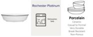 Noritake Rochester Platinum Oval Vegetable
