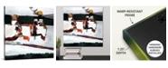 "GreatBigCanvas 'Absurd Machine' Framed Canvas Wall Art, 16"" x 16"""