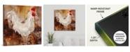 "GreatBigCanvas Backyard Guest I' Canvas Wall Art, 24"" x 24"""