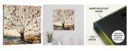 """GreatBigCanvas 24 in. x 24 in. """"Merkaba Tree"""" by  Jodi Maas Canvas Wall Art"""