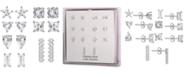 Macy's 7-Pc. Set Cubic Zirconia Novelty Stud Earrings in Sterling Silver