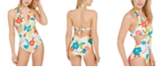 kate spade new york Twist Front One-Piece Swimsuit