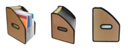 C-Line Modern Metallic 13-Pocket Vertical Stand-Up Expanding File