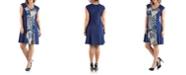 24seven Comfort Apparel Women's Plus Size A Line Dress
