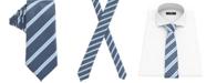 Hugo Boss BOSS Men's Open Blue Tie