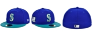 New Era Seattle Mariners Plate Patch 59FIFTY Cap