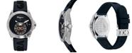 Ferragamo Men's Swiss Urban Blue Silicone Strap Watch 43mm