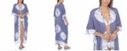Raviya Tie-Dye Kimono Maxi Cover-Up