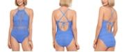 Salt + Cove Juniors' Crochet One-Piece Swimsuit, Created for Macy's