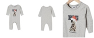 COTTON ON Baby Boy and Baby Girl The Long Sleeve Snap Romper