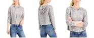 Self Esteem Juniors' Celestial Printed Knit Hoodie