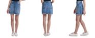 Calvin Klein Jeans Zip-Front High-Rise Denim Skirt