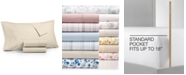 Martha Stewart Collection 3-Pc. Twin Sheet Set, 400 Thread Count 100% Cotton Percale, Created for Macy's