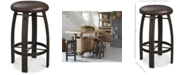 Furniture Brewing Collection Whiskey Barrel Bar Stool