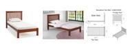 Alaterre Furniture Barcelona Twin Bed