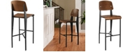 Modway Cabin Bar Stool Black