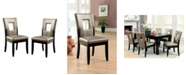Furniture of America Nosbisch Upholstered Dining Chair (Set of 2)