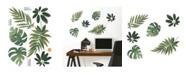 Brewster Home Fashions Havana Leaves Wall Art Kit