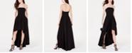 Speechless Juniors' Strapless High-Low Dress