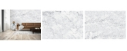 Brewster Home Fashions White Marble Wall Mural