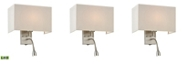 ELK Lighting Dixon Collection 2 light WALL sconce in Brushed Nickel