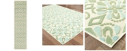 "Oriental Weavers Barbados 5994 1'10"" x 7'6"" Indoor/Outdoor Runner Area Rug"